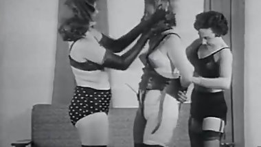 Fetish Riding the Human Pony Girl (1950s Vintage)