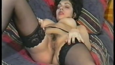 British Claudia in big collection of solo scenes (90s)