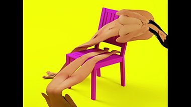 FLAT BODIES ON A CHAIR